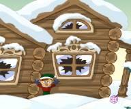 Игры на Новый год:Новогодние снежки