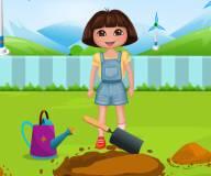 Игры Даша путешественница:Даша садовник