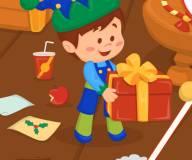 Игры на Новый год:Переделка дома Сана Клауса