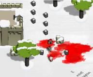 Майнкрафт:Квадратные головы против зомби