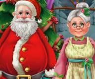 Игры на Новый год:Санта Клаус дома