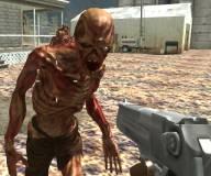 Игры про зомби:Выстрел в зомби