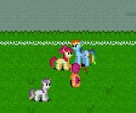 Пони:Футбол с маленькими пони