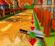 Игры для мальчиков:Гоночный арбуз