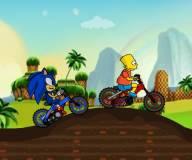 Соник:Соник против Симпсонов