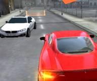 Игры гонки:Городская школа вождения 3д
