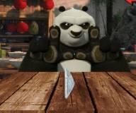 кунг-фу панда:Бумажный футбол