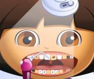 Игры Даша путешественница:Проблемы с зубами