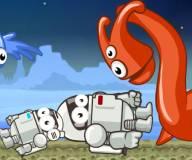 На двоих:Большой космонавт и маленький космонавт 3