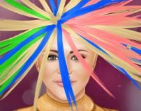 Игры Ханна Монтана:Реальная прическа Ханны Монтаны