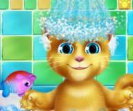 Говорящий кот:Купание Рыжика