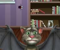 Говорящий кот:Кот Том ловит мух