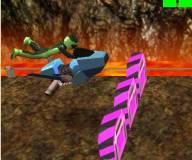 Игры гонки:Уровень 3: Летающий мотоцикл ховербайк