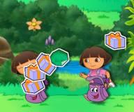 Игры Даша путешественница:Даша ловит предметы