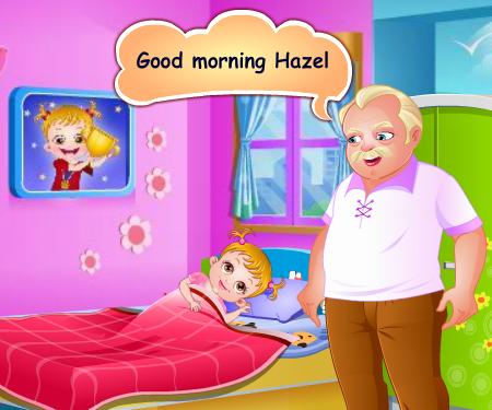 Раскраски для девочек малышка хейзел