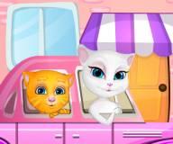 Говорящий кот:Говорящая анжела готовится к родам