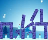 Игры на Новый год:Убей снеговика