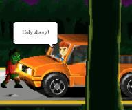 Игры про зомби:Один в лесу зомби