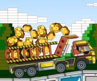 Игры лего:Грузовик с золотом