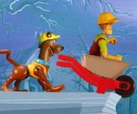 Игры Скуби Ду:Ускоренный курс строительства