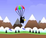 Игры для мальчиков:Птичка с парашютом