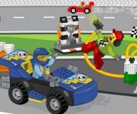 Игры лего:Заправочная станция