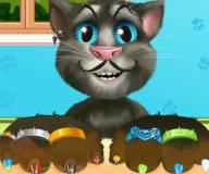 Говорящий кот:Вылечи и укрась лапы Тома