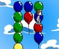 Игры для мальчиков:Прыгай по воздушным шарикам