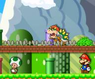 Игры Марио:Марио защищает Тоада
